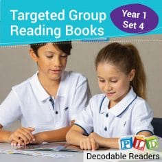 How do decodable reading books differ from 'Whole Language' reading books?