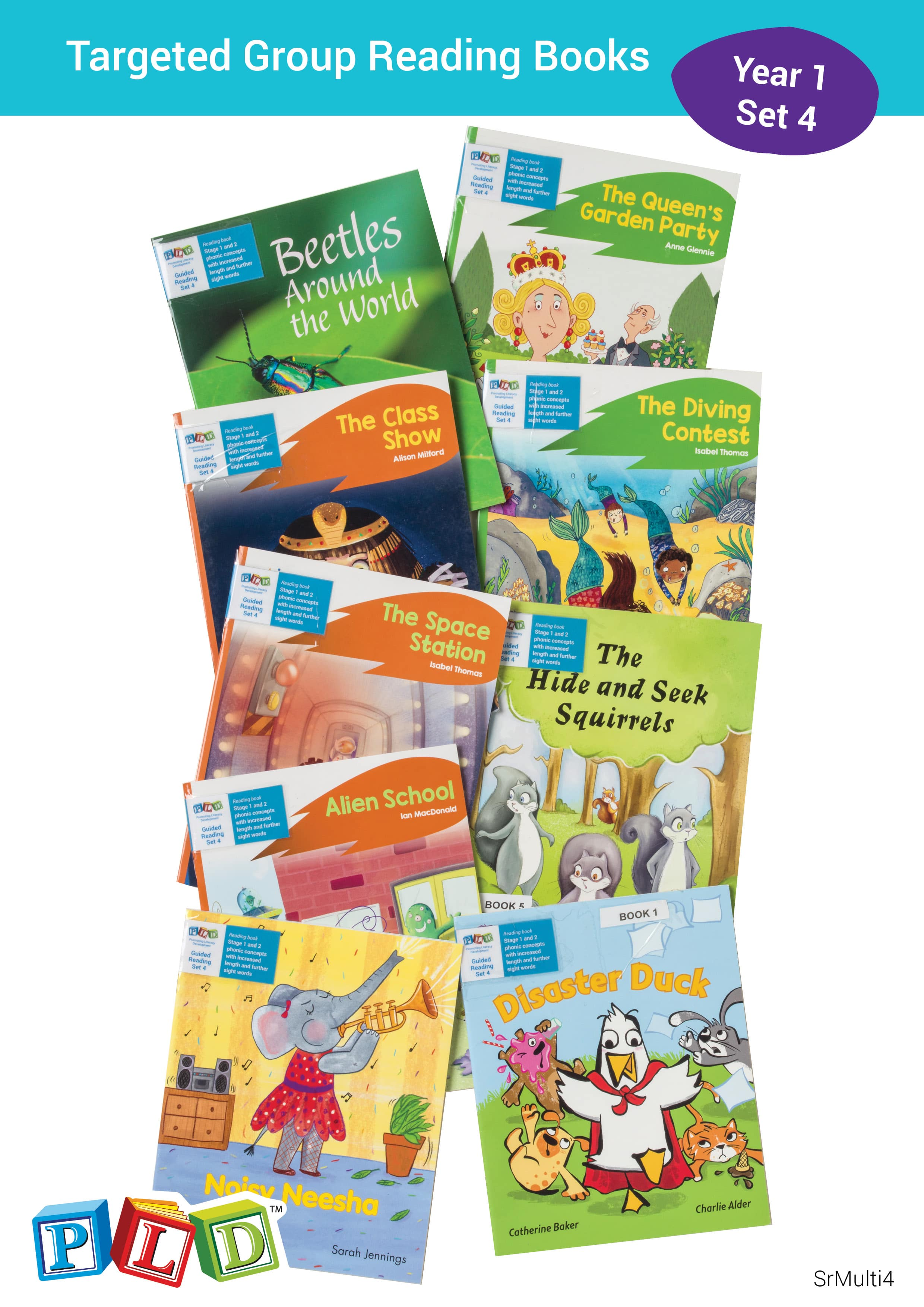 Targeted Group Reading Books Set 4