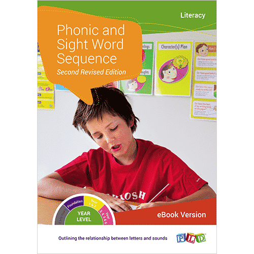 Phonic and Sight Word Sequence (eBook)