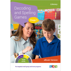 Phonic Dictation – Stage 1 (eBook)
