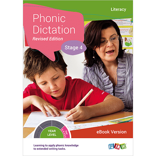 Phonic Dictation - Stage 4 (eBook)