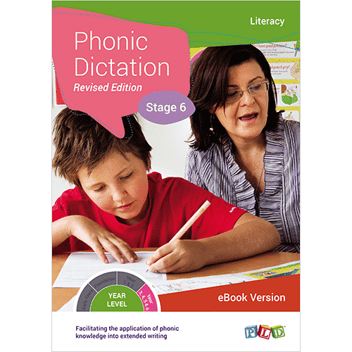 Phonic Dictation – Stage 6 (eBook)