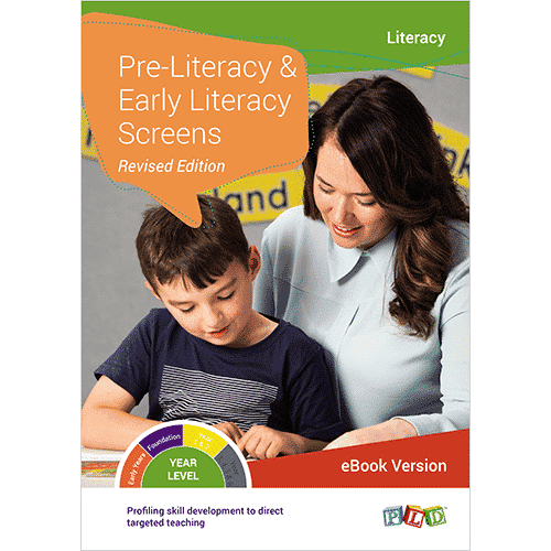 Pre-Literacy and Early Literacy Screens (eBook)
