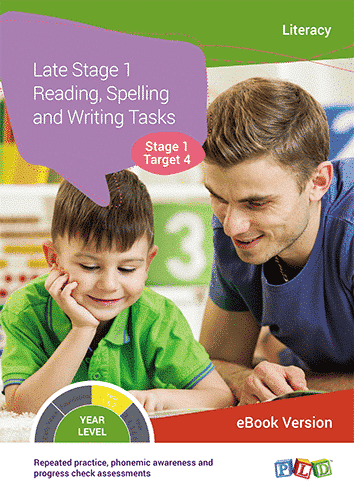Late Stage 1 - Reading, Spelling and Writing Tasks - Target 4