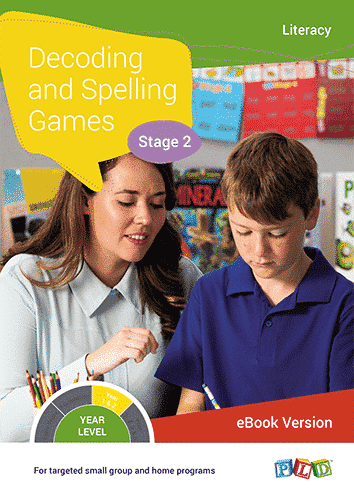 Decoding and Spelling Games - Stage 2