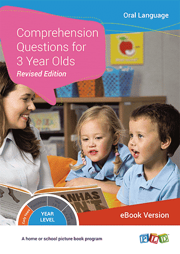 Comprehension Questions for 3 Year Olds