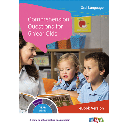 Comprehension Questions for 5 Year Olds (eBook)