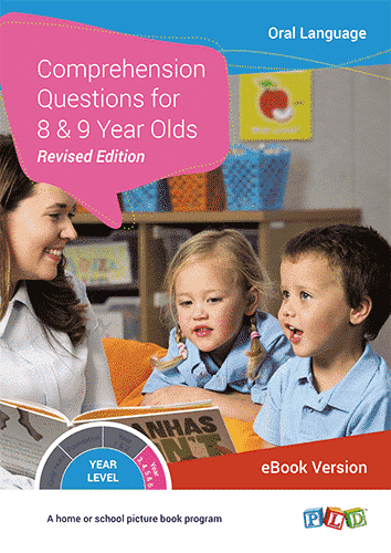 Comprehension Questions for 8 and 9 Year Olds