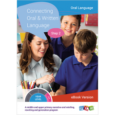 Connecting Oral & Written Language - Step 1 (eBook)