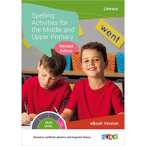 Spelling Activities for the Middle and Upper Primary (eBook)