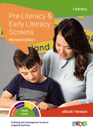 Pre-Literacy and Early Literacy Screens