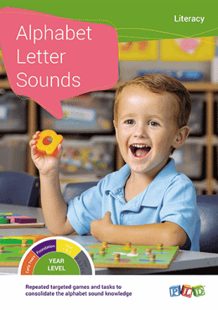 Difficulty Acquiring the Alphabet Sounds - Screen
