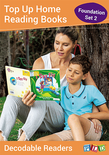Top Up Home Reading Books - Foundation Semester 2