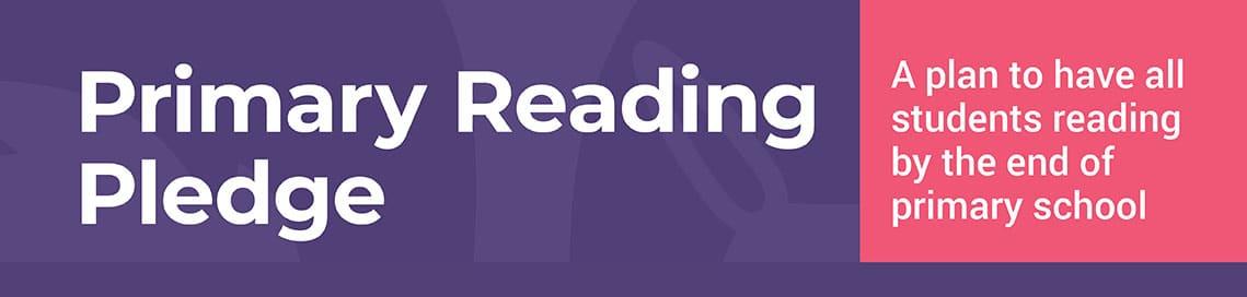 The Primary Reading Pledge