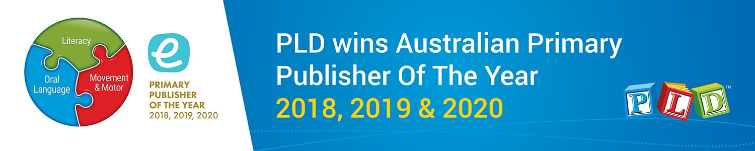 PLD wins Australian Primary Publisher of the Year for a third consecutive year!