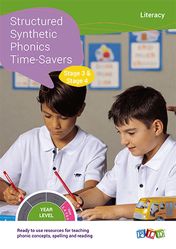 Structured Synthetic Phonics Time-Savers – Stage 3 & 4