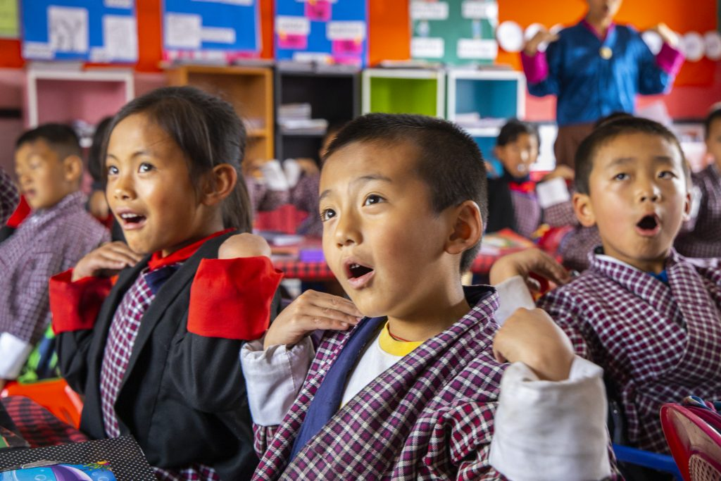 The Gift of Education for Bhutan