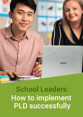 School Leaders - How to implement PLD successfully - Online Course