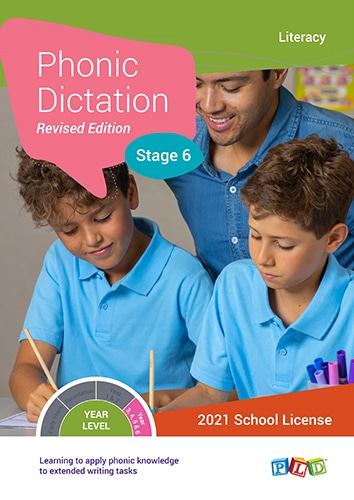 Phonic Dictation – Stage 6 (Subscription)