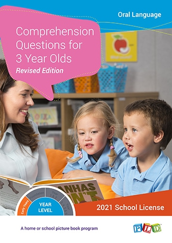 Comprehension Questions for 3 Year Olds (Subscription)