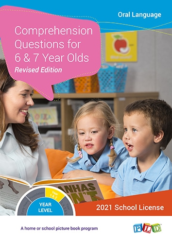 Comprehension Questions for 6 and 7 Year Olds (Subscription)