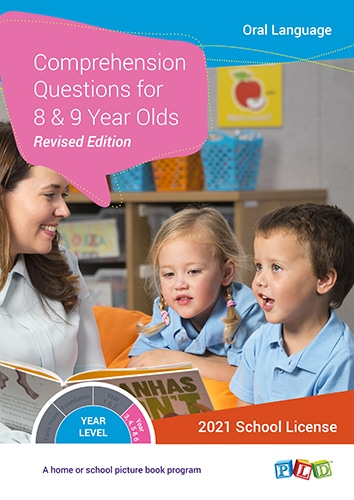 Comprehension Questions for 8 and 9 Year Olds (Subscription)