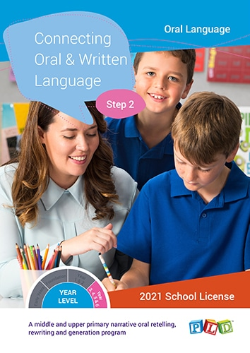 Connecting Oral and Written Language – Step 2 (Subscription)