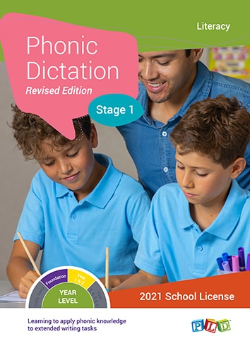 Phonic Dictation – Stage 1 (Subscription)