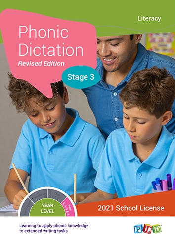Phonic Dictation – Stage 3 (Subscription)