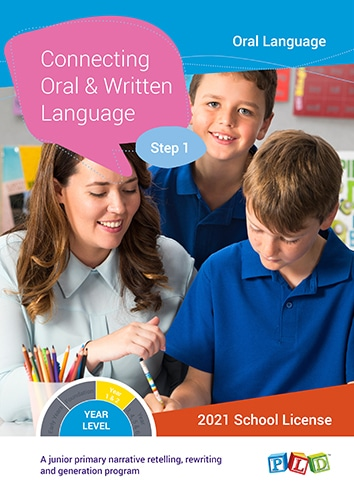 Connecting Oral and Written Language – Step 1 (Subscription)
