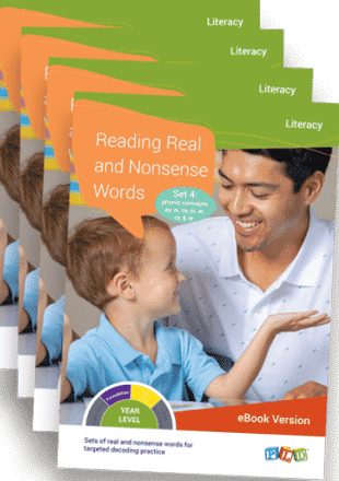 Reading Real and Nonsense Words - Set 1: CVC Words (eBook)