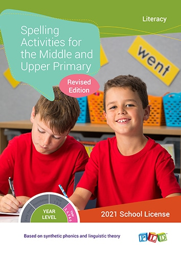 Spelling Activities for the Middle And Upper Primary (Subscription)