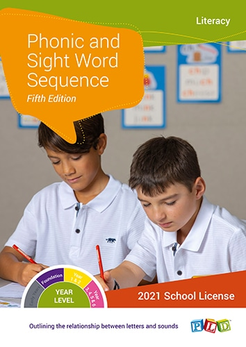 Phonic and Sight Word Sequence (Subscription)