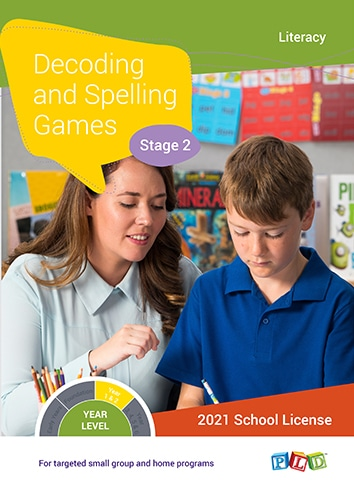 Decoding and Spelling Games – Stage 2 (Subscription)