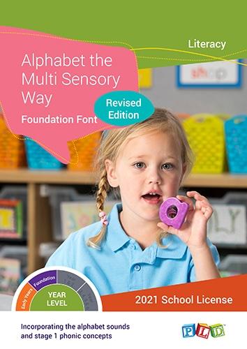 Alphabet the Multi Sensory Way – Foundation Font (Subscription)