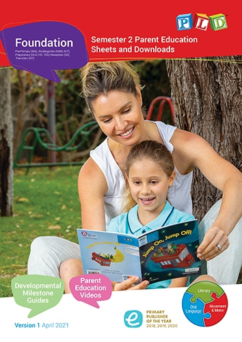 Foundation Parent Education Sheets and Downloads - Semester 2