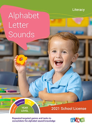 Alphabet Letter Sounds (Subscription)