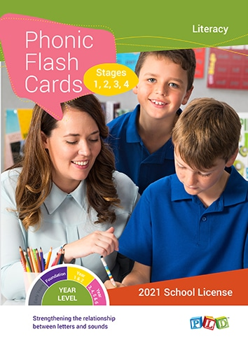 Phonic flash cards - Stage 1-4