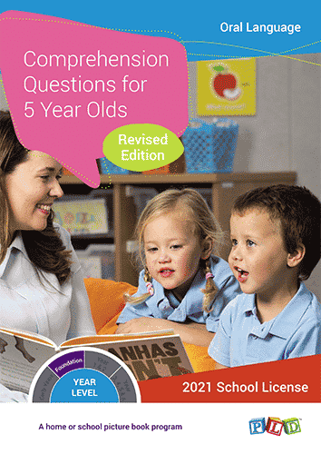Comprehension Questions for 5 Year Olds