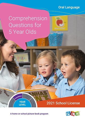 Comprehension Questions for 5 Year Olds (Subscription)