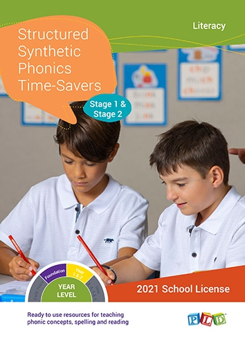 Structured Synthetic Phonics Time-Savers – Stage 1 & 2 (Subscription)