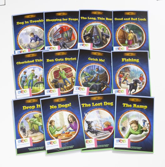 Middle & Upper Primary Catch-Up Reading Books: That Dog Series (Set 1)