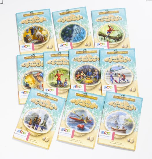 Middle & Upper Catch-Up Reading Books: Island Adventure Series (Set 1)