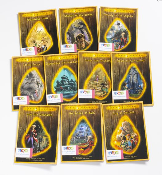 Middle & Upper Primary Catch-Up Reading Books: Amber Guardians Series (Set 1)
