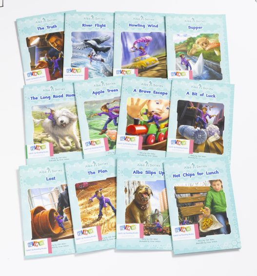Middle & Upper Primary Catch-Up Reading Books: Alba Series (Set 1)