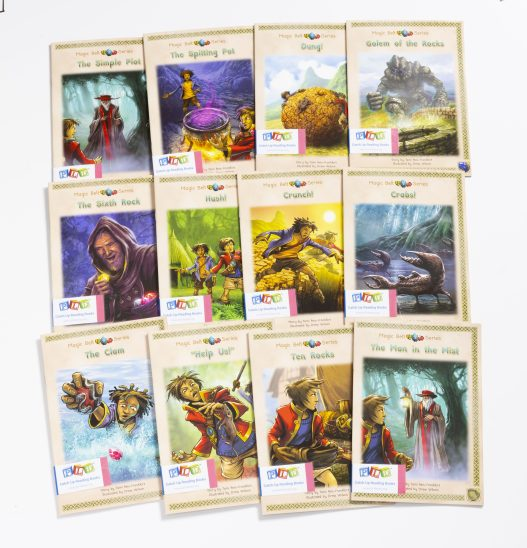 Middle & Upper Primary Catch-Up Reading Books: Magic Belt Series (Set 1)