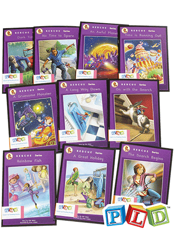Middle & Upper Primary Catch-Up Reading Books: Rescue Series (Set 1)