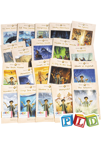 Middle & Upper Primary Catch-Up Reading Books: Talisman Series (Set 1 & 2)