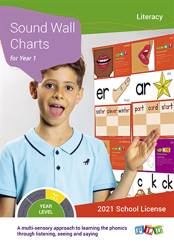 Sound Wall Charts for Year 1