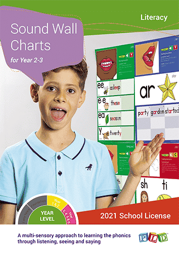 Sound Wall Charts for Year 2 & 3 (Subscription)